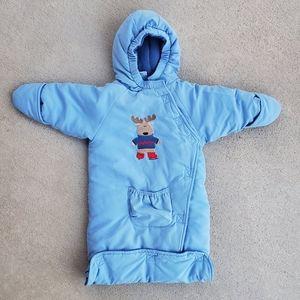 Baby bodysuit for carseat baby okie-dokie